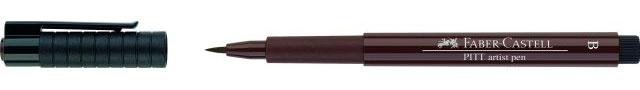 Faber Castell Pitt artist pen dark sepia 175