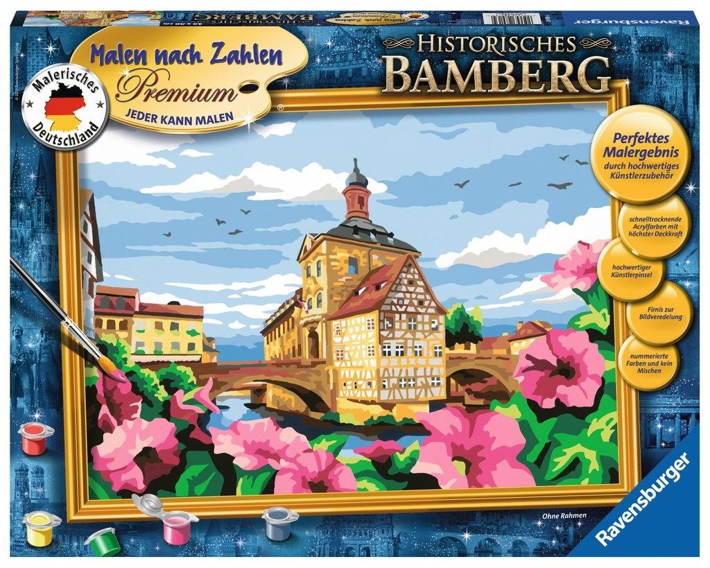 Ravensburger Malen nach Zahlen Historisches Bamberg