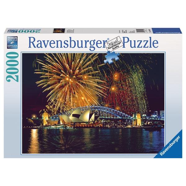 Ravensburger Puzzle Feuerwerk über Sydney 2000 Teile