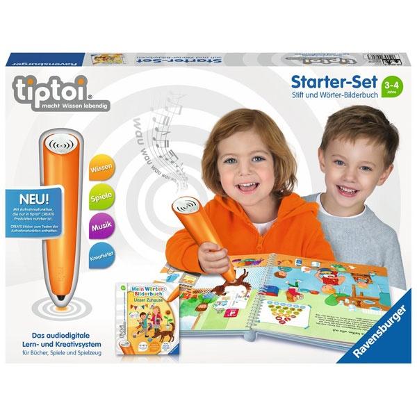 tiptoi Starter-Set Stift und Wörterbilderbuch