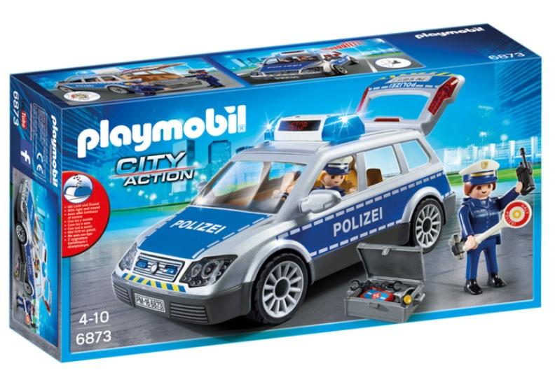 Playmobil 6873 City Action Polizei-Einsatzwagen