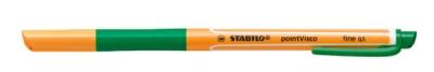 Stabilo Gelschreiber pointVisco 0,5mm grün