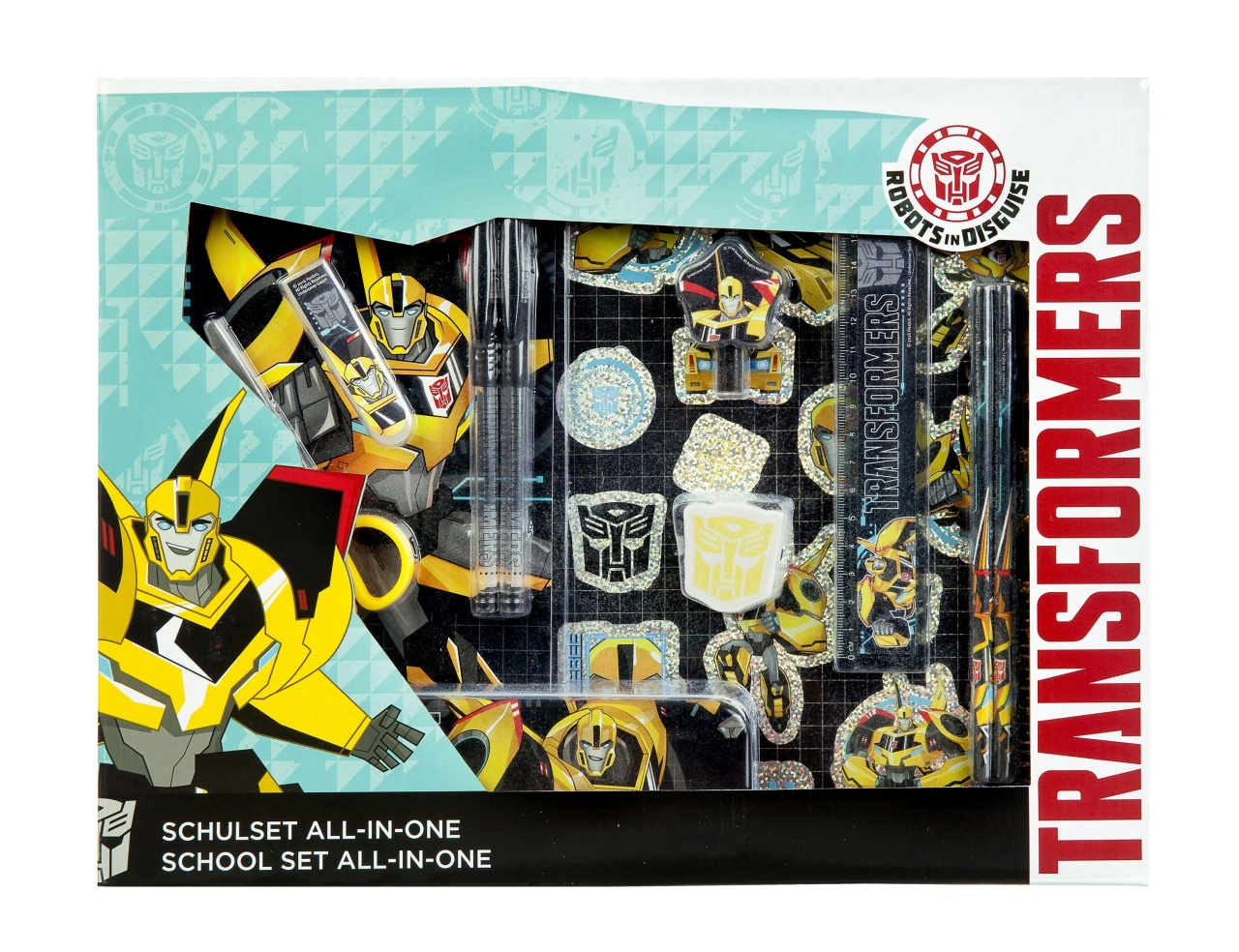 Transformers Schulset all-in-one