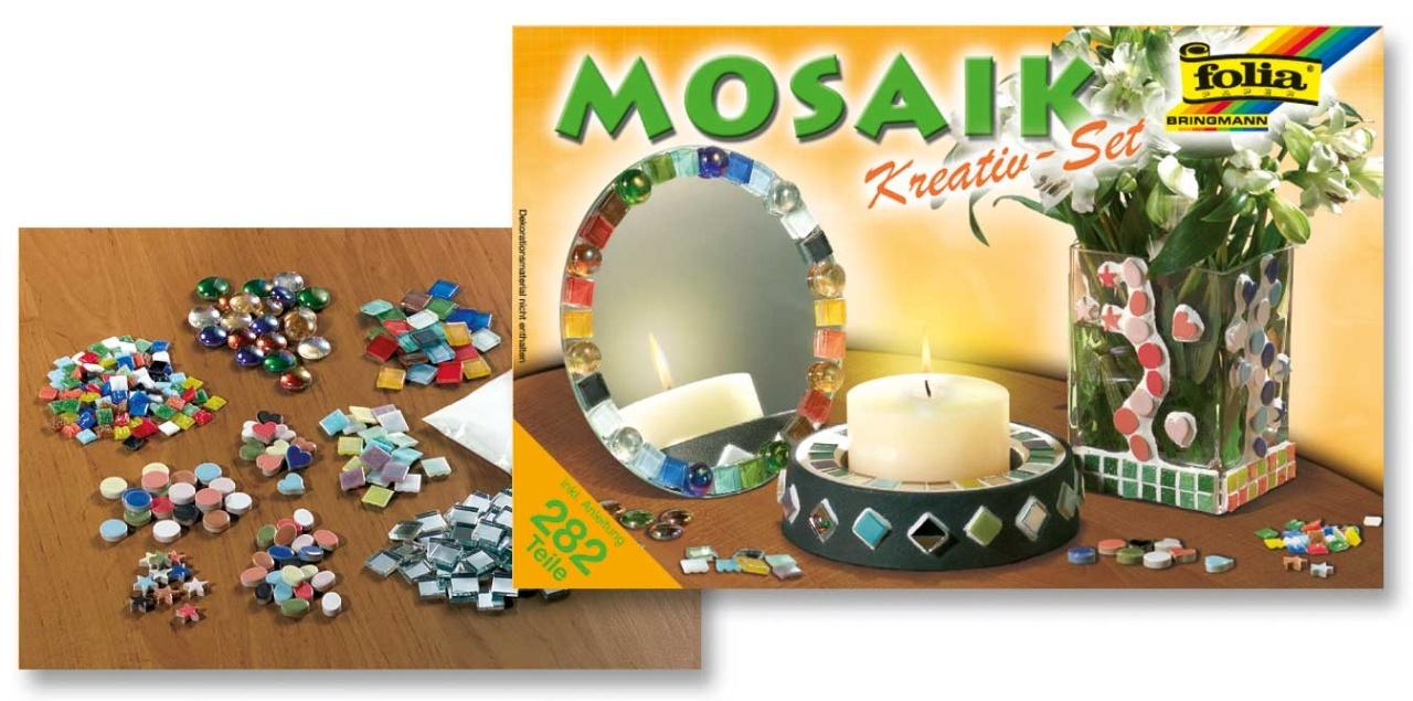 Folia Mosaik Jumbo Kreativ Set 282 Teile