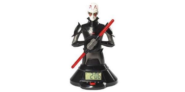 Star Wars Lightsaber Clock Lichtschwert-Wecker