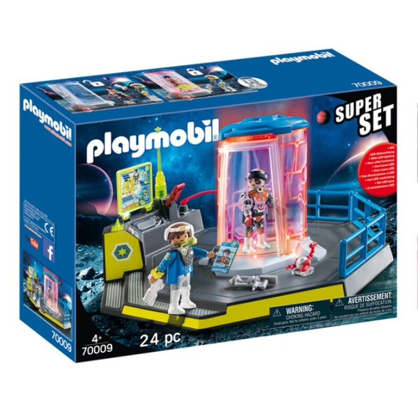 Playmobil 70009 Space Superset Galaxy Police Gefängnis
