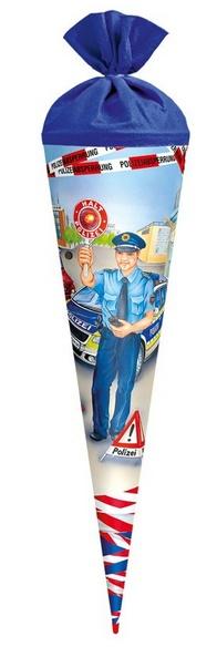 Roth Schultüte Polizist mit Licht und Sound 70 cm