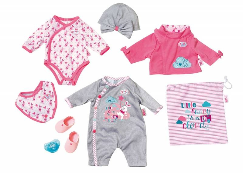 Zapf Creation Baby born Deluxe Care and Dress Set