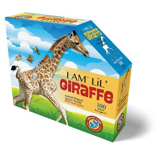 Konturenpuzzle Giraffe 100 Teile