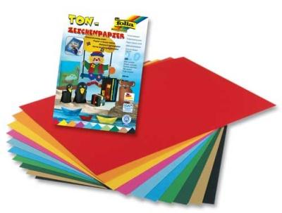 Folia Tonzeichenpapier A4 130g 20 Blatt