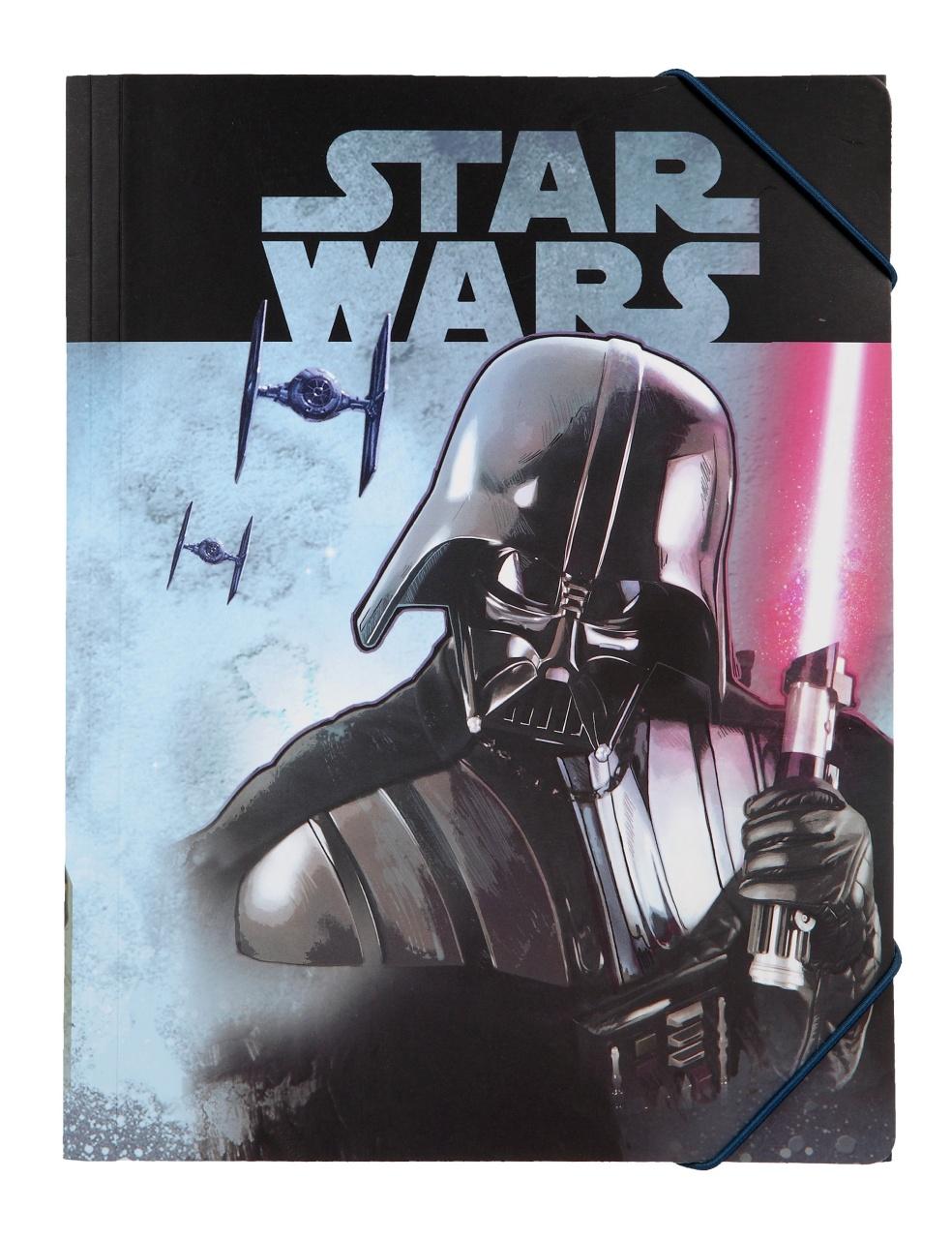 Star Wars Gummizugmappe A4