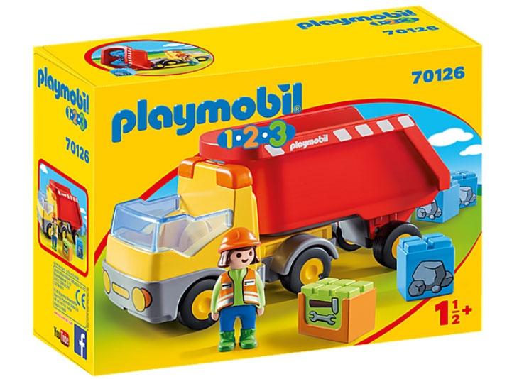 Playmobil 70126 1.2.3 Kipplaster