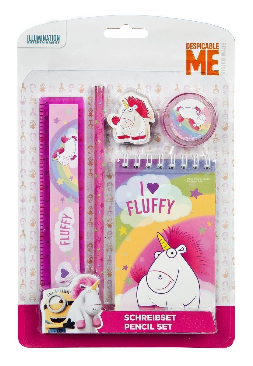 Fluffy Schreibset