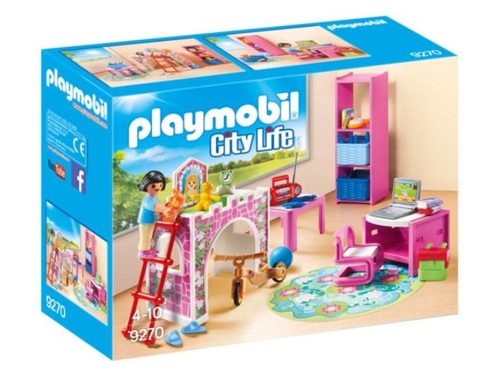 Playmobil 9270 City Life Fröhliches Kinderzimmer