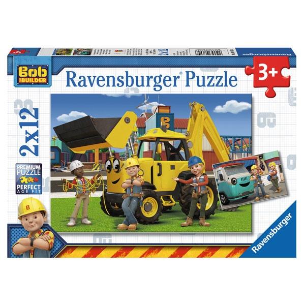 Puzzle Bob und sein Team 2x12 Teile