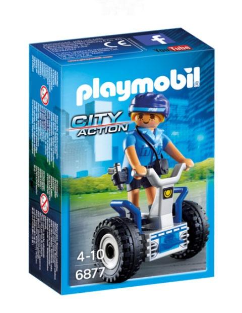 Playmobil 6877 City Action Polizistin mit Balance-Racer