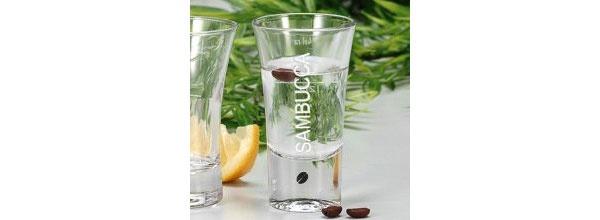 Sambucca Glas 3 Stück Set Gläser