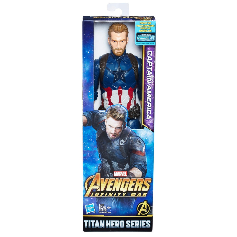 Avengers Figur Titan Hero Captain America