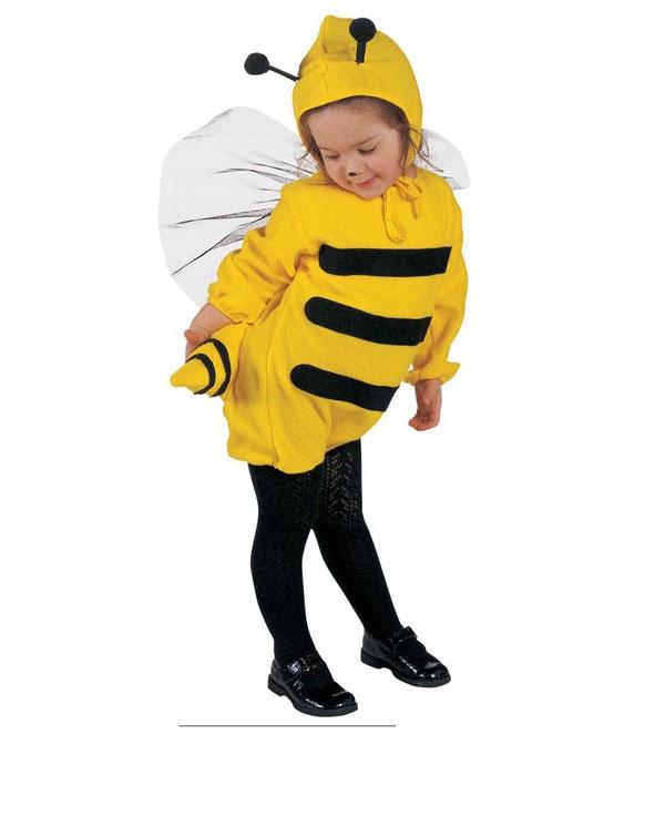 Kostüm Biene Gr. 110 (Kostüm, Kopfbedeckung)