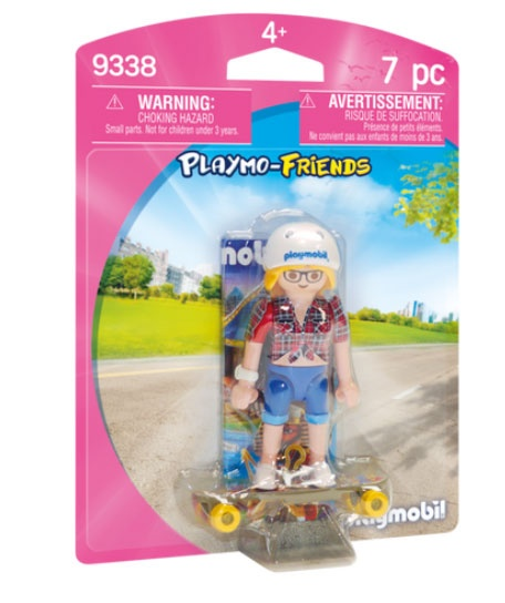 Playmobil 9338 Playmo-Friends Teenie mit Longboard