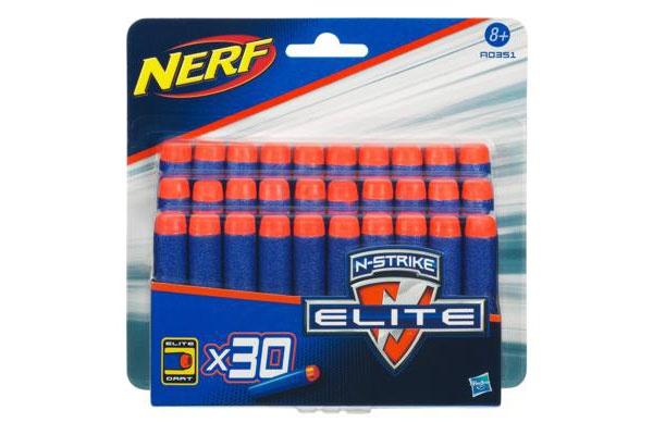 Nerf N-Strike Elite Darts Nachfüllpack 30Stück blau A0351