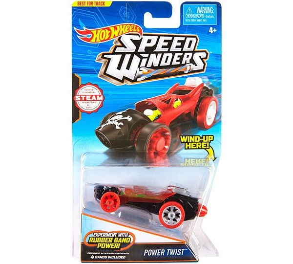 Hot Wheels Speed Winders CarTrack Power-Twist