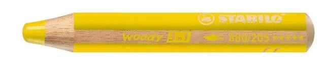 Stabilo Woody Farbstift gelb