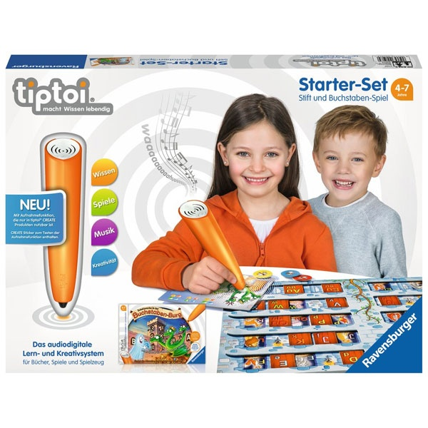 tiptoi Starter-Set Stift und Buchstaben-Spiel