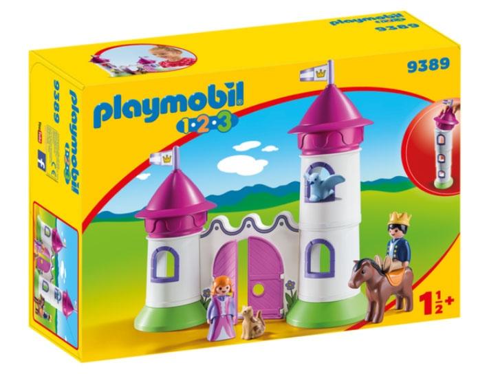 Playmobil 9389 1.2.3 Schlösschen mit Stapelturm