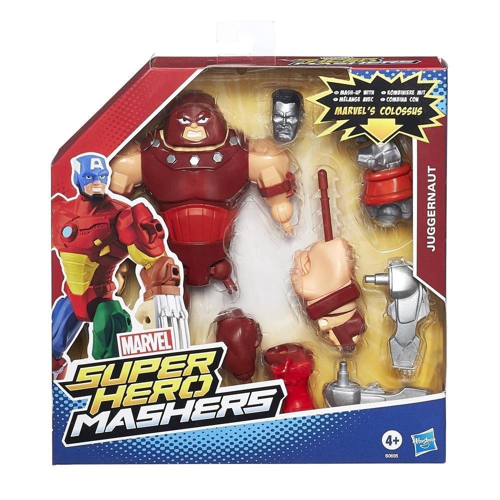 Marvel Super Hero Masher Deluxe Figur Juggernaut