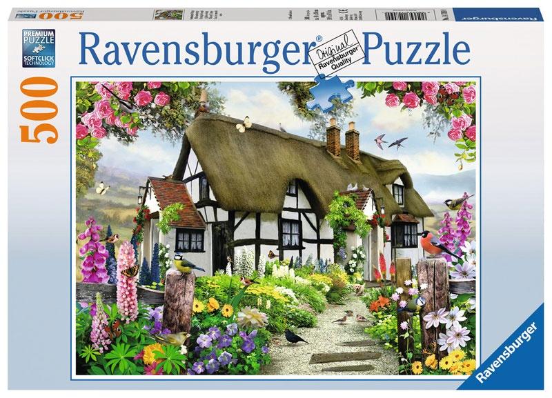 Ravensburger Puzzle Verträumtes Cottage 500 Teile