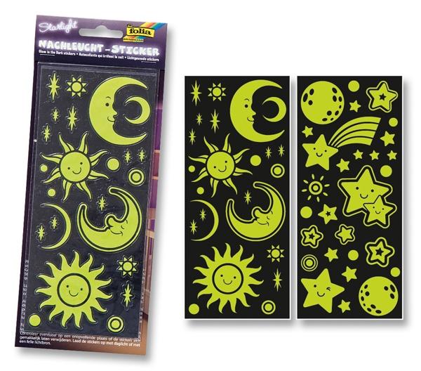Folia Nachtleucht-Sticker Starlight