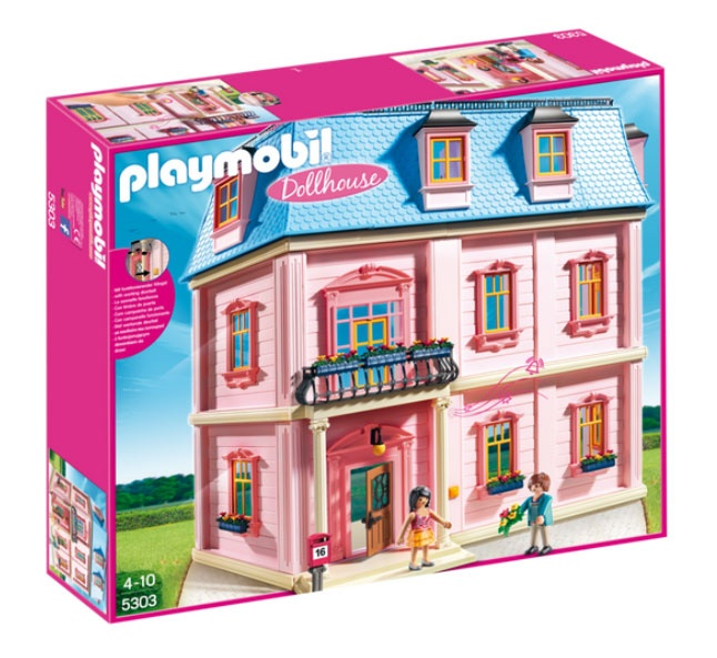 Playmobil 5303 Dollhouse Romantisches Puppenhaus