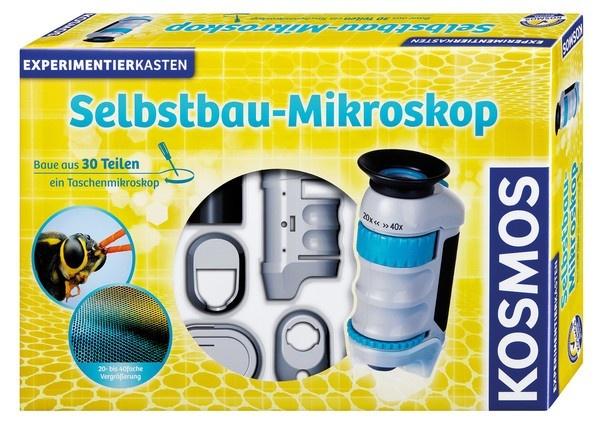 Selbstbau-Mikroskop Experimentierkasten
