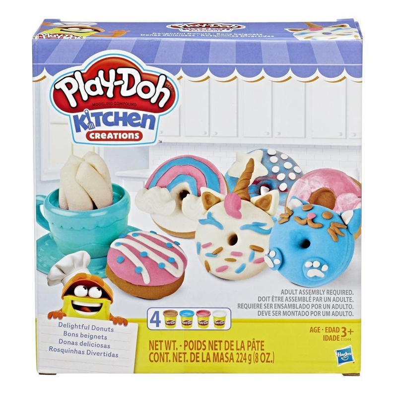 Play Doh Donuts