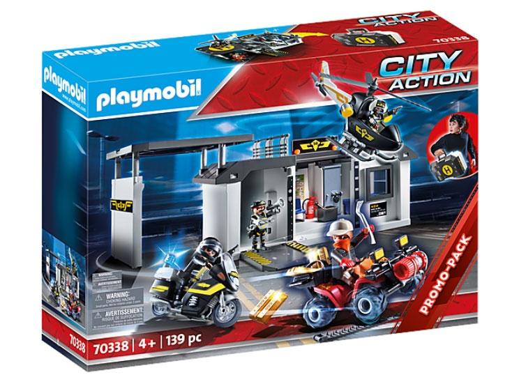 Playmobil 70338 City Action Große Mitnehm SEK Zentrale