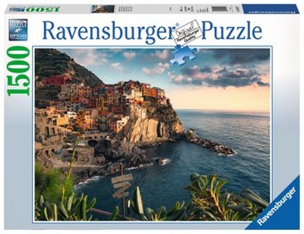 Ravensburg Puzzle Blick auf Cinque Terre