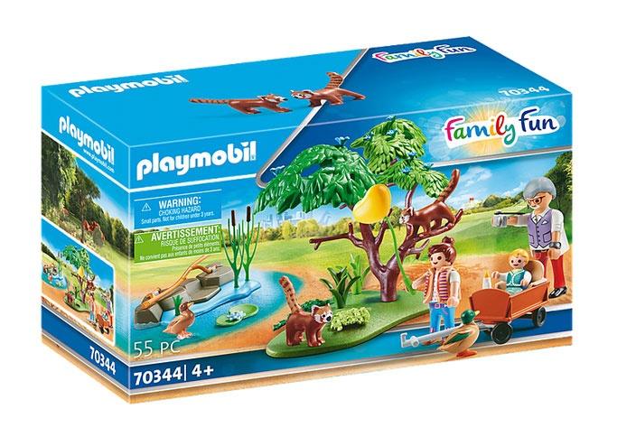 Playmobil 70344 Family Fun Kleine Pandas im Freigehege