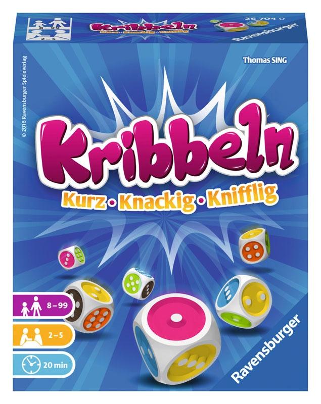 Ravensburger Kribbeln Würfelspiel