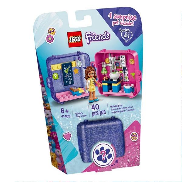 Lego Friends 41402 Olivias magischer Würfel - Forscherin