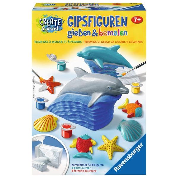 Ravensburger Create & Paint Gipsfigur Delfin