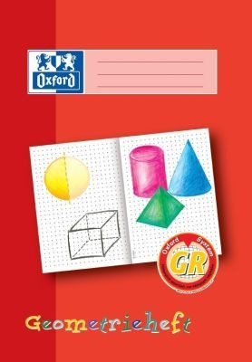 Oxford Schreiblernheft Geometrie A4 Lin GR mit Punkteraster