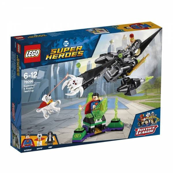 Lego Super Heroes 76096 Superman und Krypto Team-Up