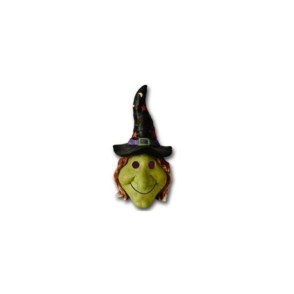 Halloween Hexenkopf mit LED