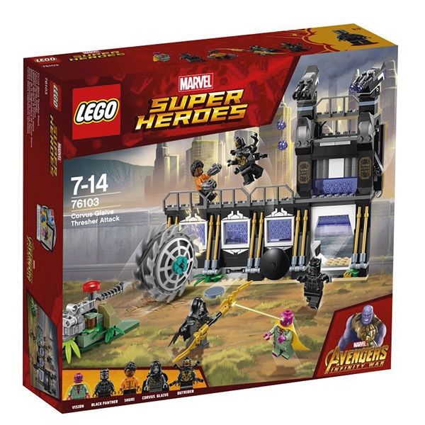 Lego Super Heroes 76103 Corvus Glaives Attacke