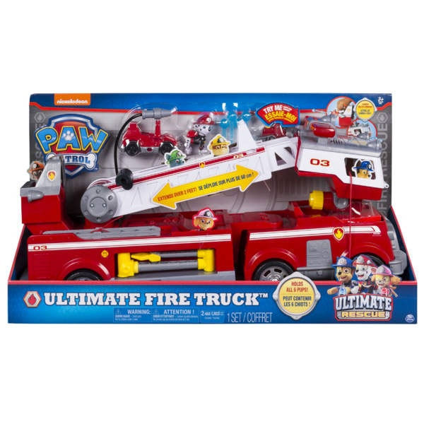 Paw Patrol Ultimative Rescue Fire Truck Feuerwehr