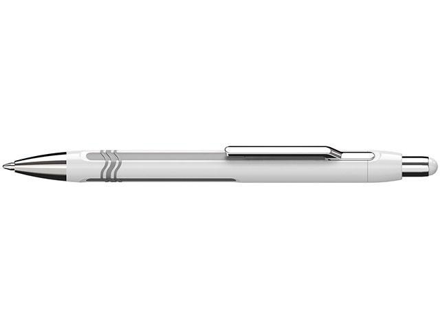 Schneider Kugelschreiber Epsilon weiß-silber