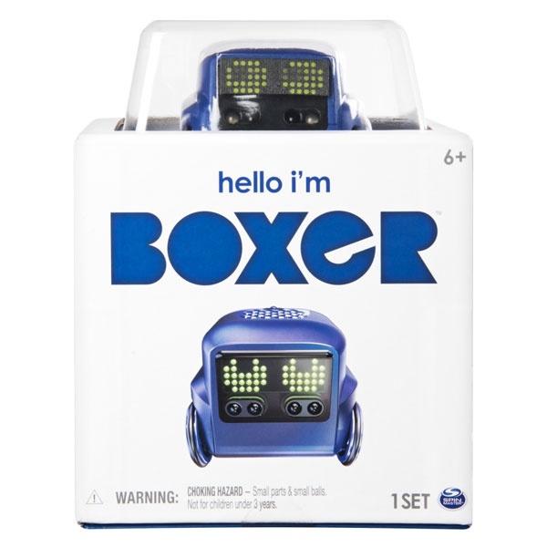 Boxer Mini-Roboter von Spinmaster blau