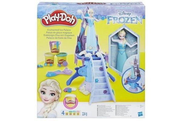Play Doh Die Eiskönigin Elsa mit Eispalast