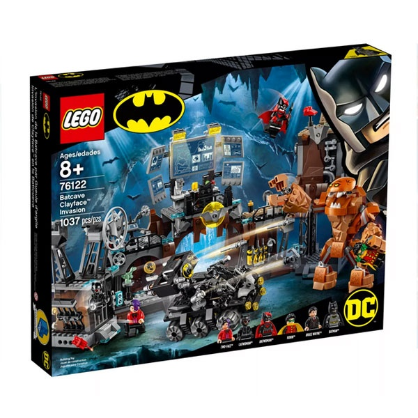 Lego Super Heroes 76122 Clayface Invasion in die Bathöhle